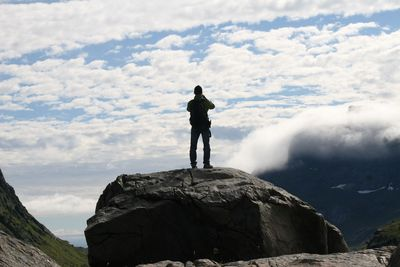 3. TOBY AT THE TOP OF THE WORLD