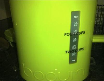 New bodum kettle