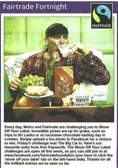 Metro 14 March Fairtrade