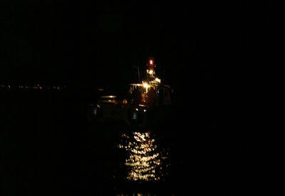 Dark boat