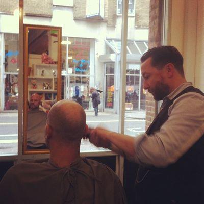 Ronnie gets a trim