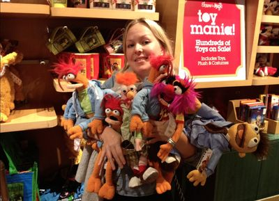 Hanne and muppets