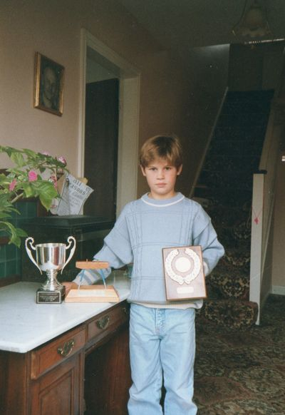 Me and my trophy (3)