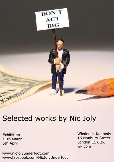 Nic Joly - Flyer