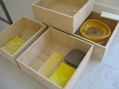 Think boxes (yellow)